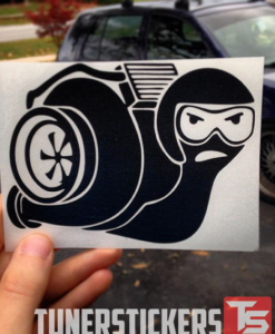 Intercooler Turbo Snail Decal Sticker