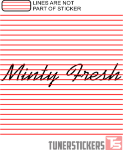 Minty Fresh Window Banner