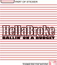 Hellabroke Ballin On A Budget