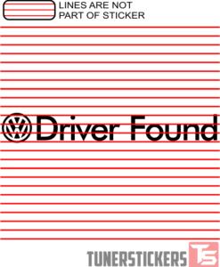Volkswagen Driver Found