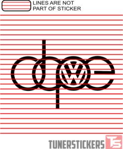 Volkswagen Dope
