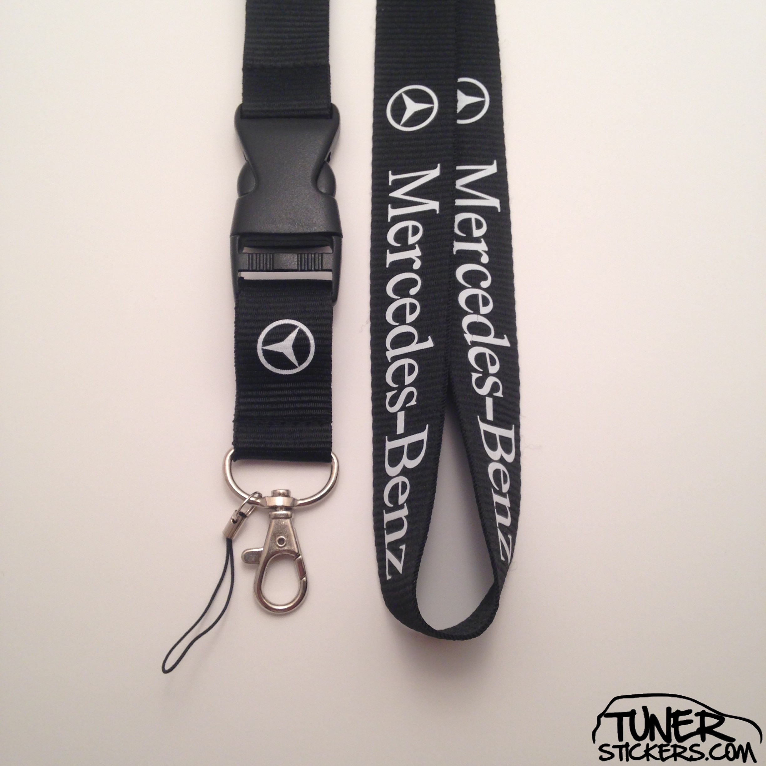 mercedes benz lanyard tuner stickers