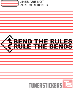 Bend The Rules Rule The Bends