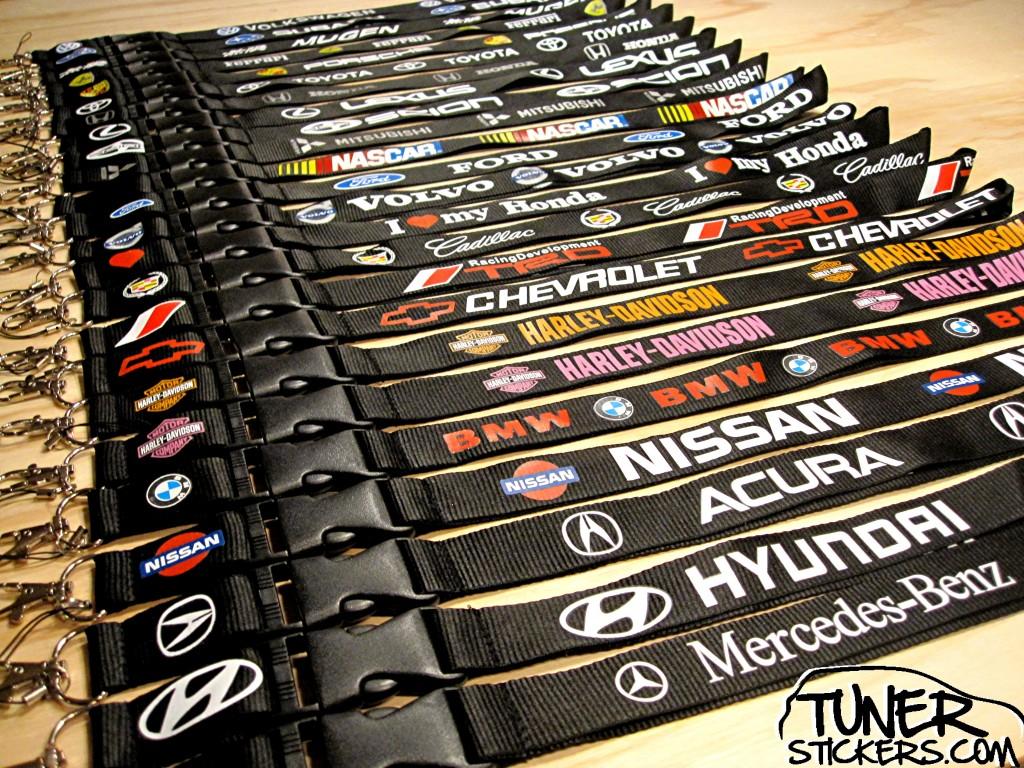 New Lanyard Designs Tuner Stickers