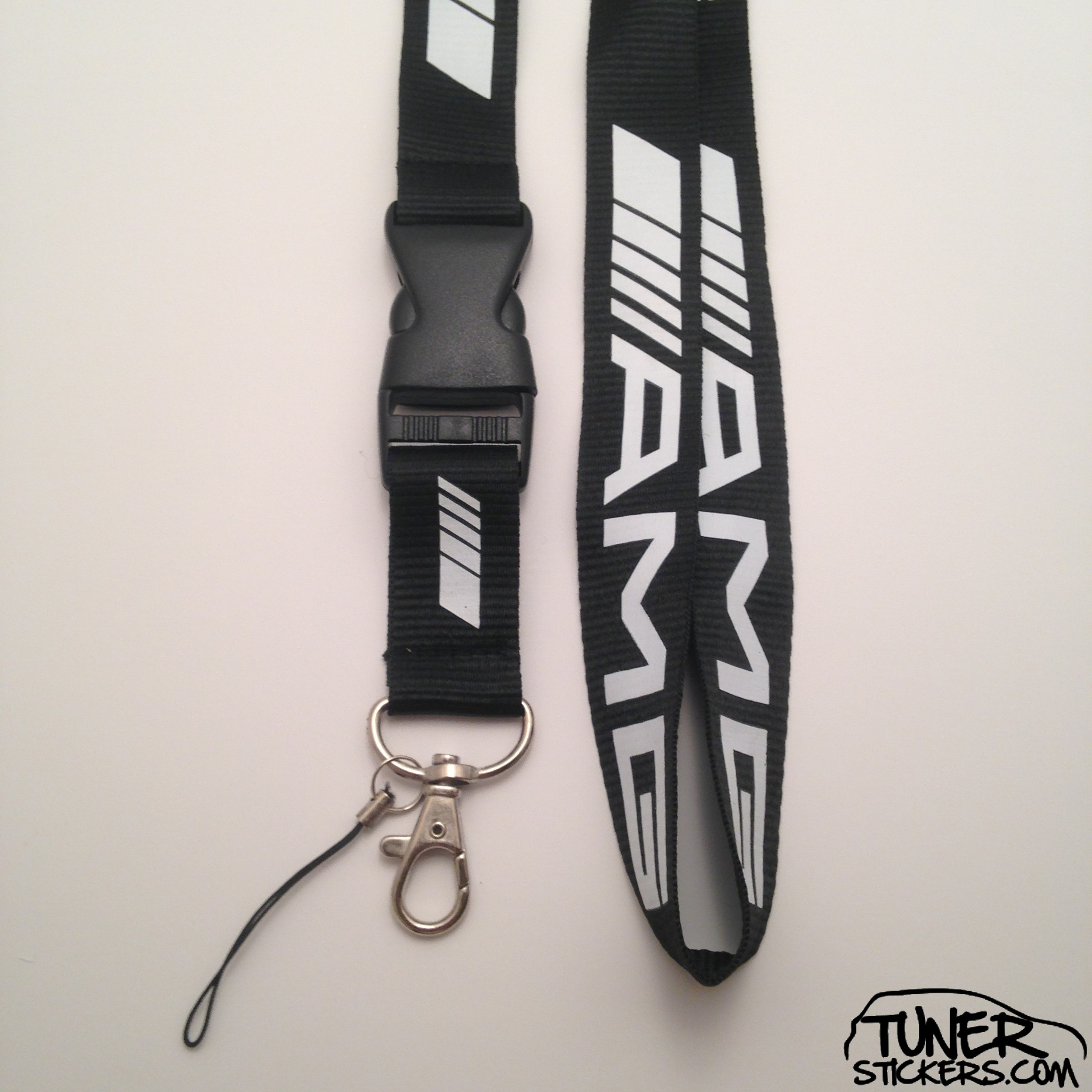 amg mercedes benz lanyard tuner stickers