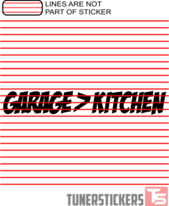 Garage Over Kitchen