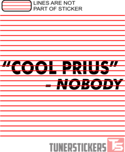 Cool Prius Nobody