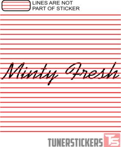 Minty Fresh Window Banner