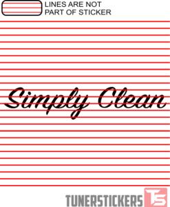 Simlpy Clean Window Banner