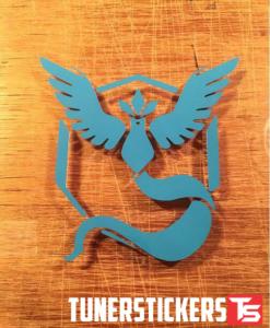 Pokemon Go Team Mystic Sticker