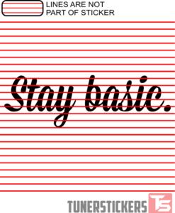 stay-basic