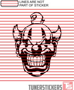 clown-face-decal
