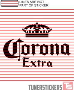 corona-extra-logo-sticker-decal
