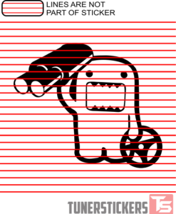 domo-holding-exhaust-and-steering-wheel-decal-sticker
