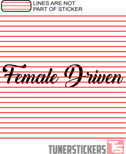 female-driven-sticker-decal