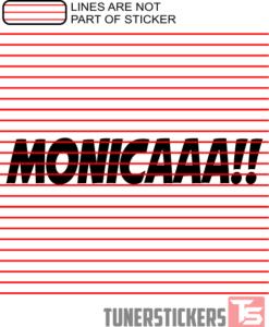 monicaaa-sticker-decal