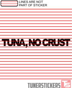 tuna-no-crust-sticker-decal