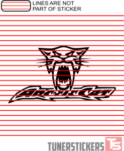 ARCTIC CAT HEAD STICKER DECAL