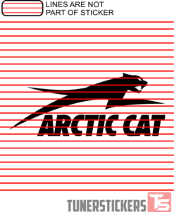 Artic Cat Logo Sticker Decal