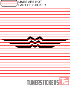 Mazda Logo 1936-1962 Sticker Decal