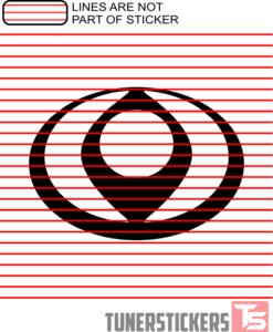 Mazda Logo 1992-1997 Sticker Decal
