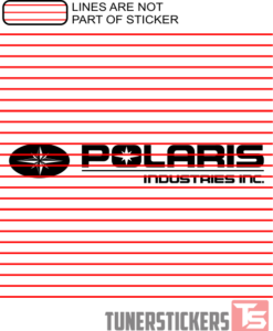 Polaris Industries Logo Sticker Decal