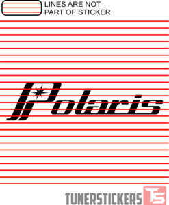 Polaris Vintage Logo Sticker Decal