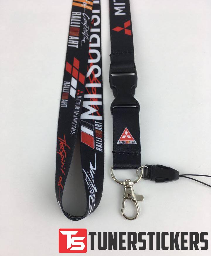 Mitsubishi Ralliart Lanyard - Tuner Stickers