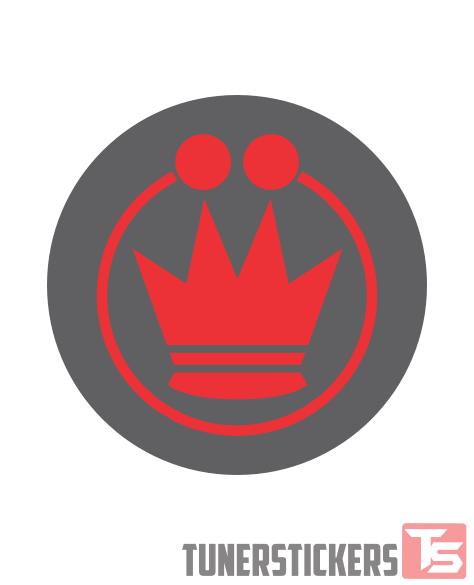 Konig Logo Center Cap Stickers